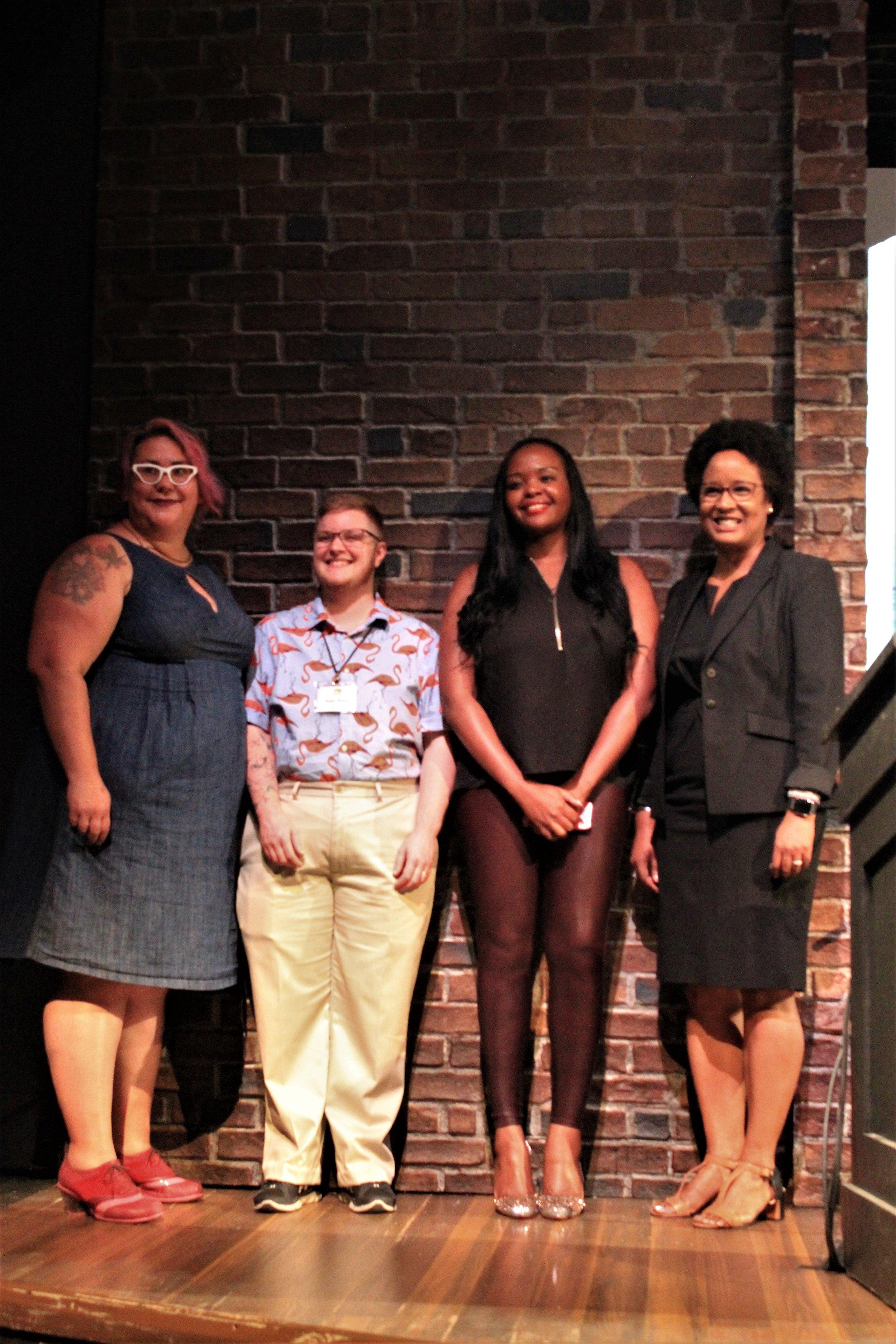 (left to right) Tara Robertson, Sage Sharp, Esther John, Dr. Harriet Nembhard (2).jpg