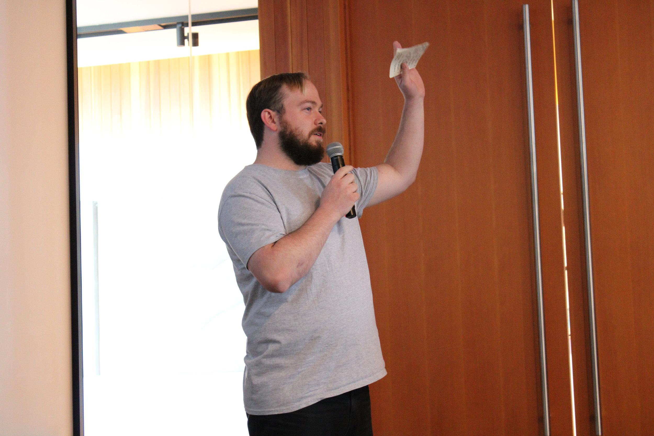 Speaker raising hand.JPG