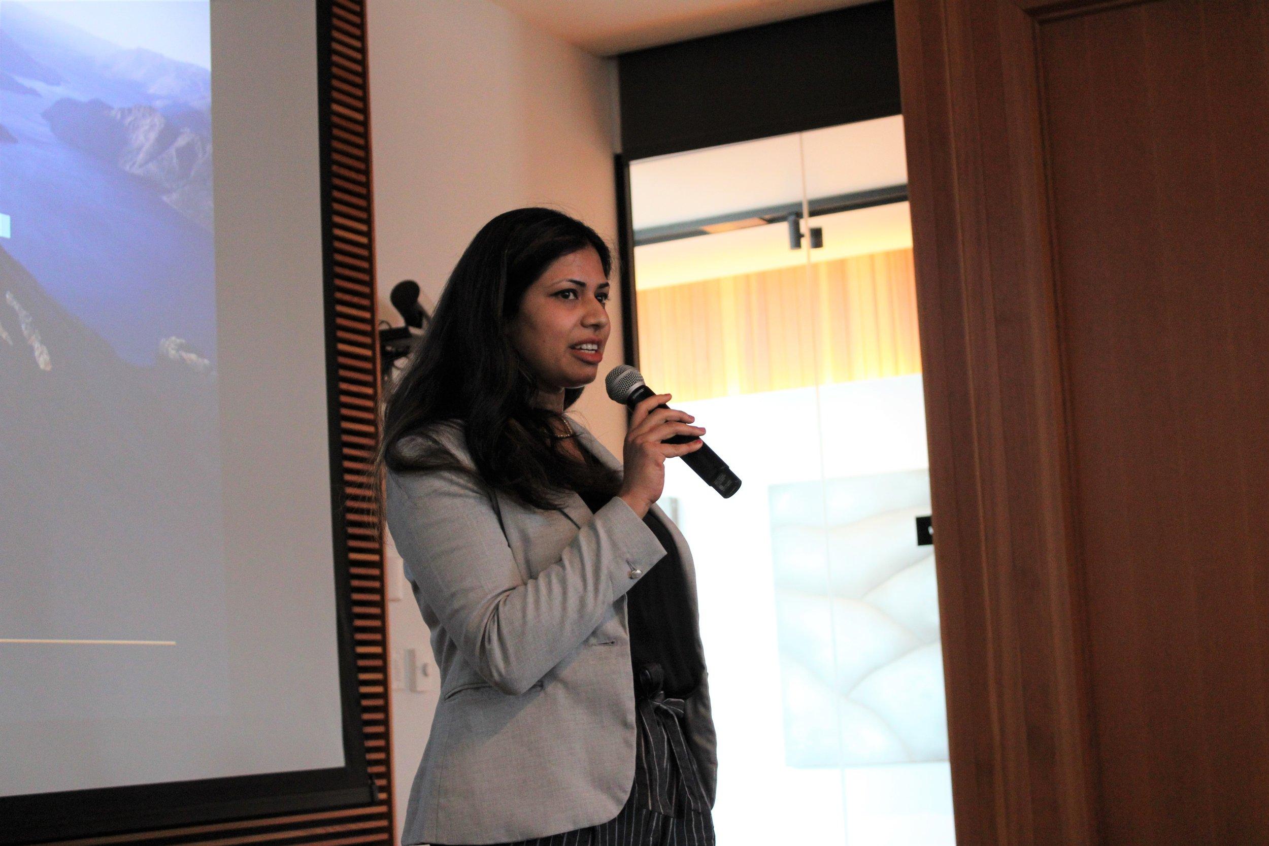 Speaker addressing audience.JPG