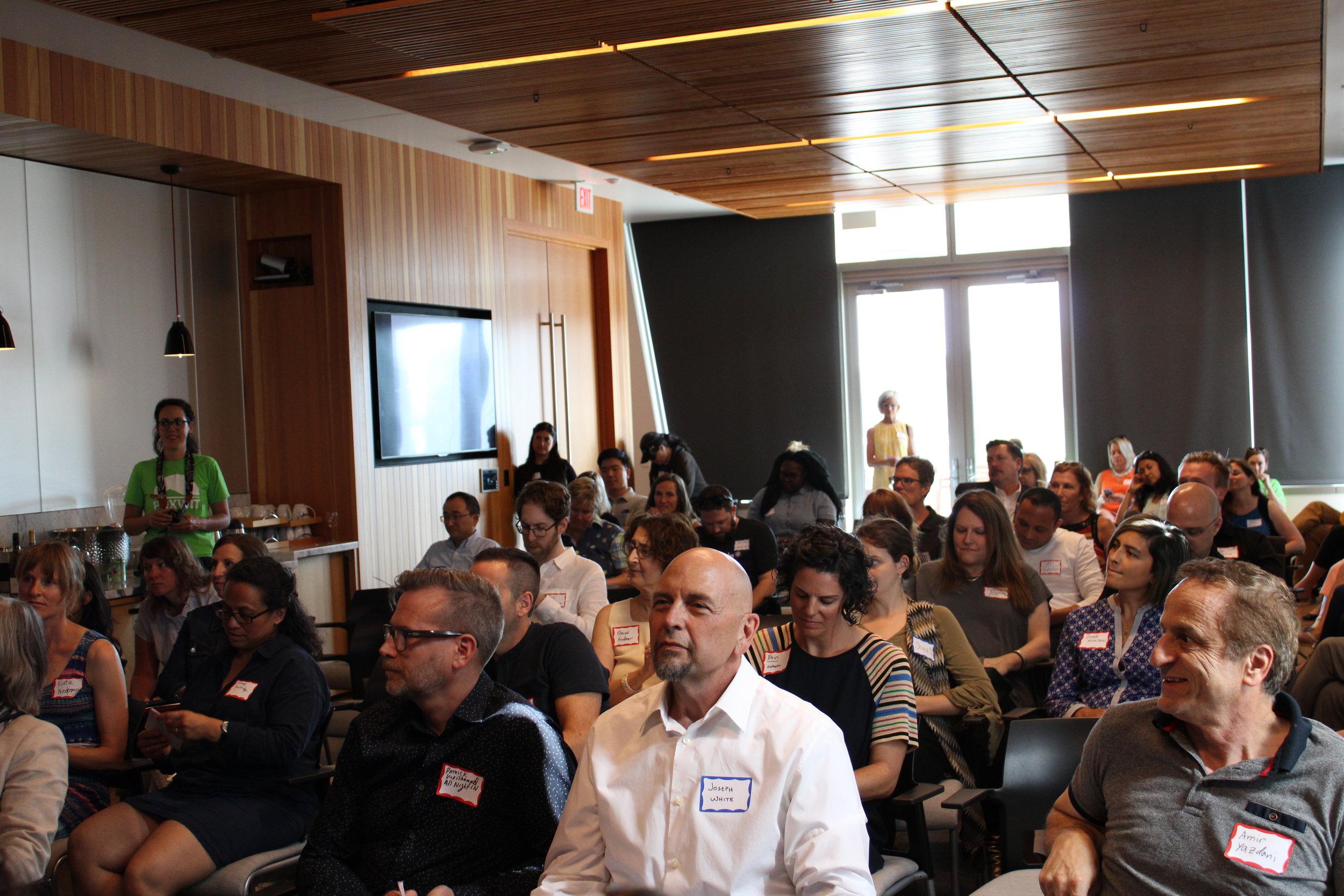 Crowd attentively listening.JPG
