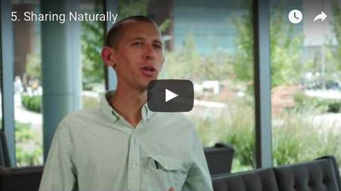 sharing naturally... (video)