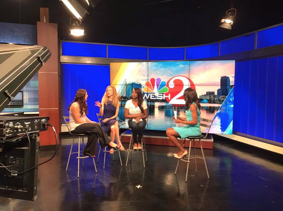 WESH 2 news Television interview