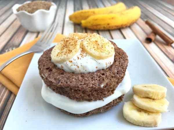 Banana Flax Muffin in a Mug