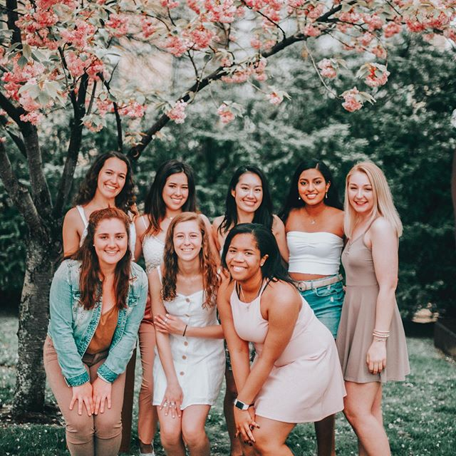 in bloom 🌸 #cmualphaphi