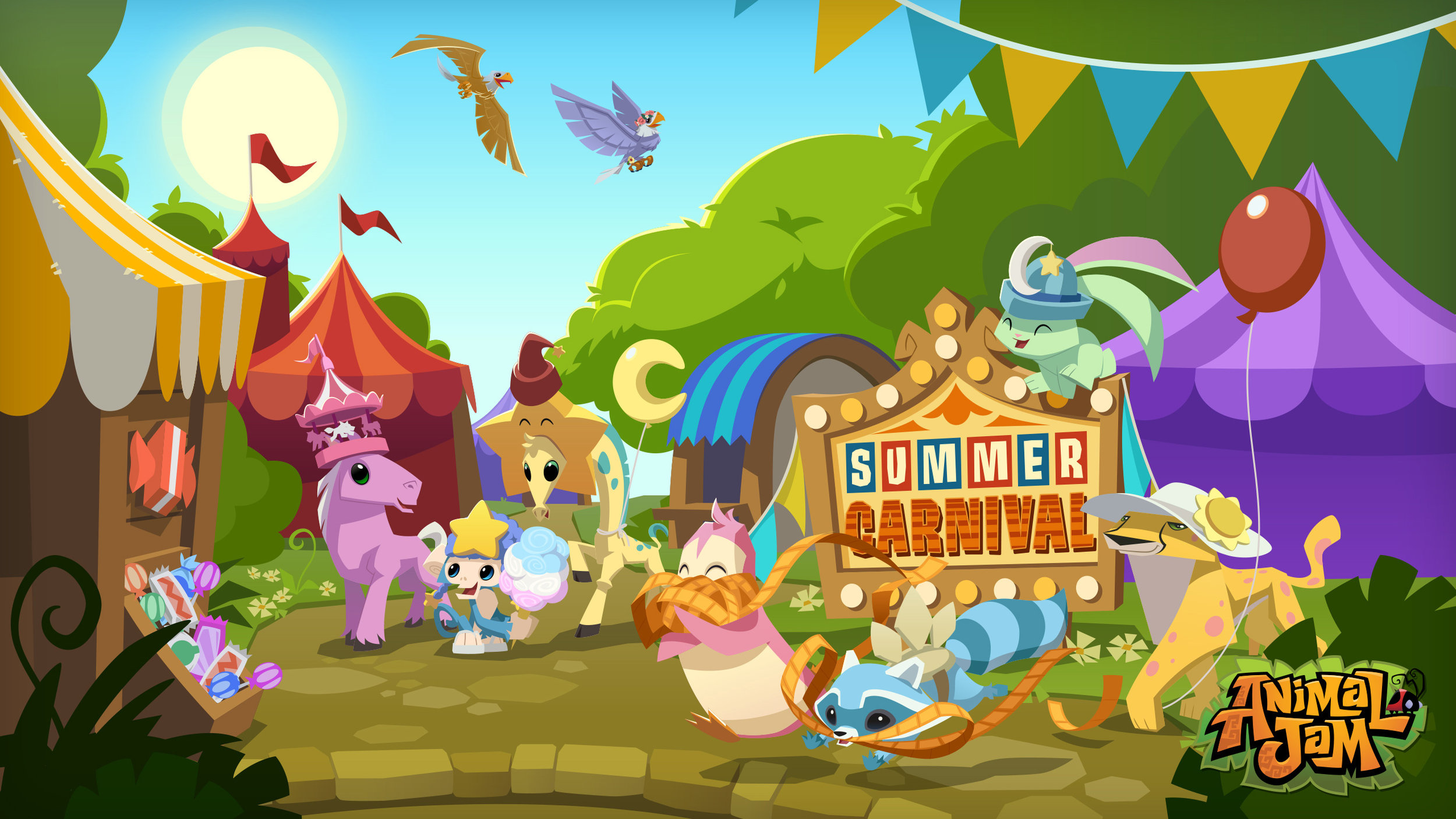 Summer Carnival Wallpaper