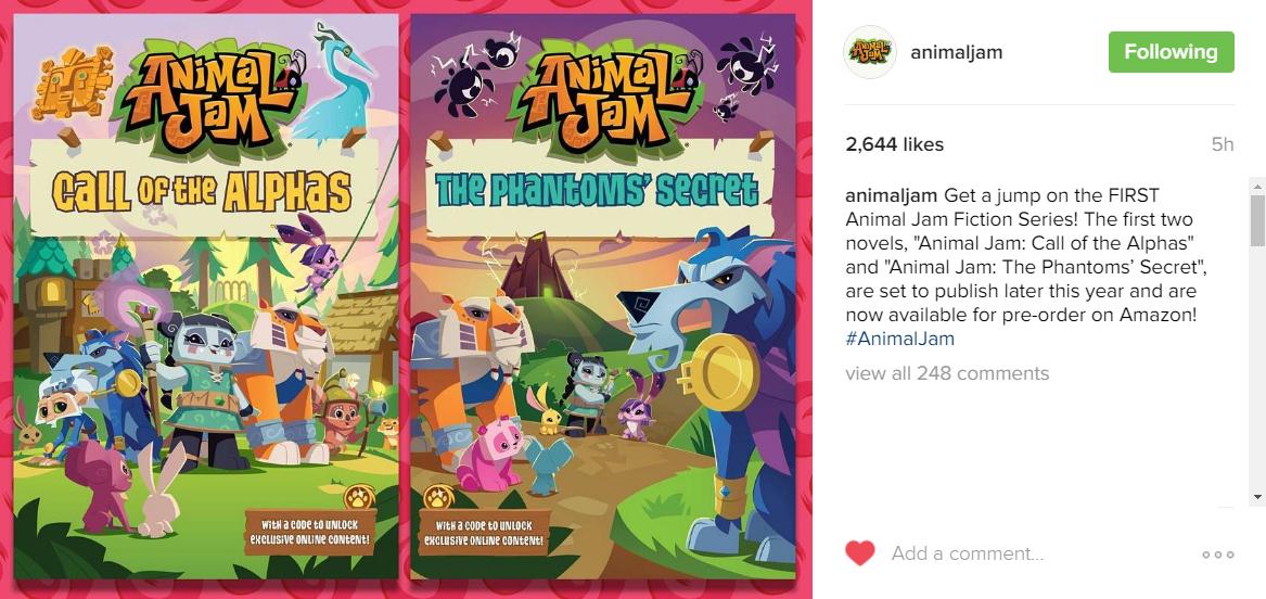 new animaljam paperbacks announcement.jpg