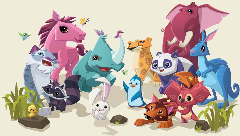 Animal Character Banner