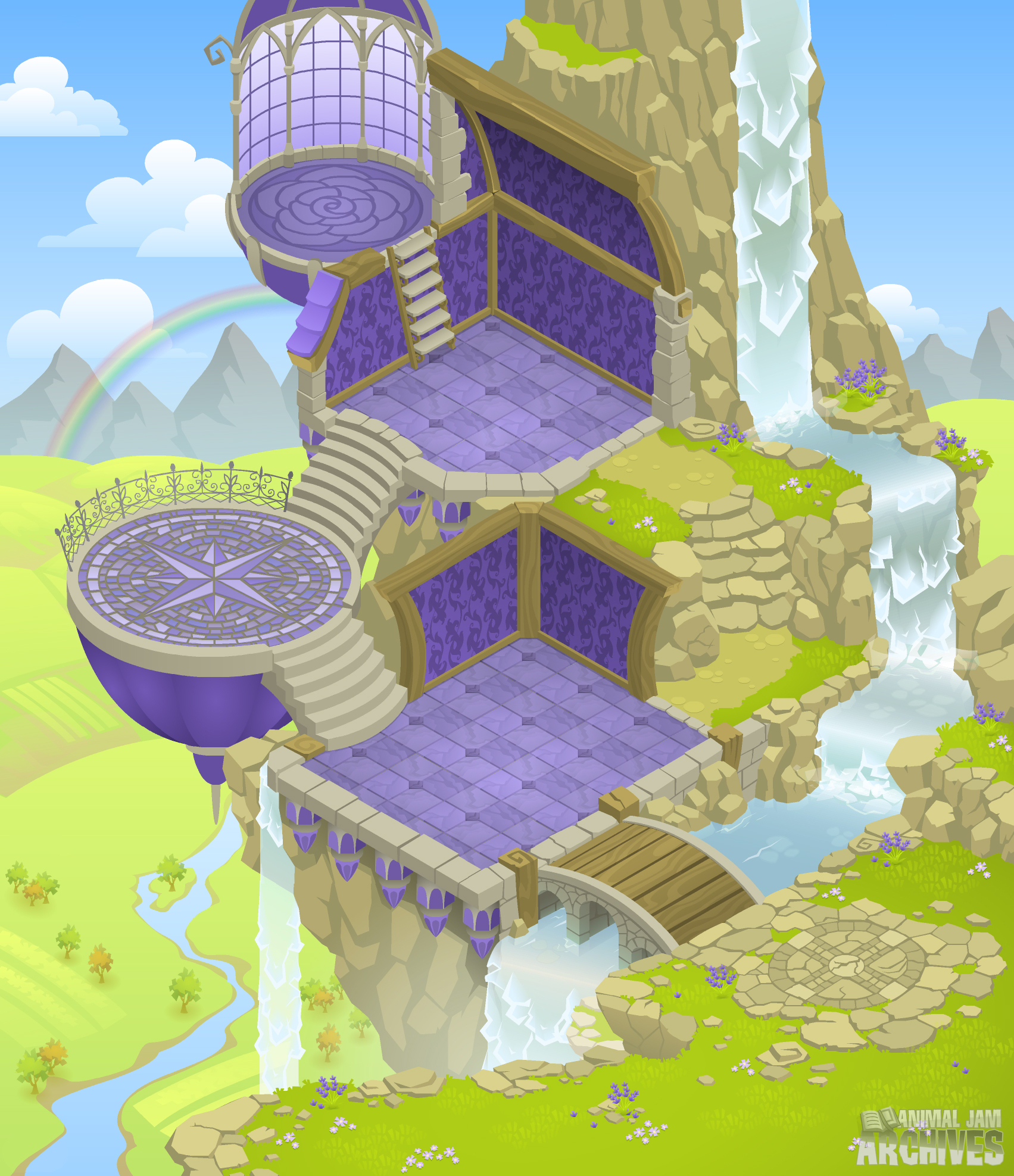Fantasy Castle Map