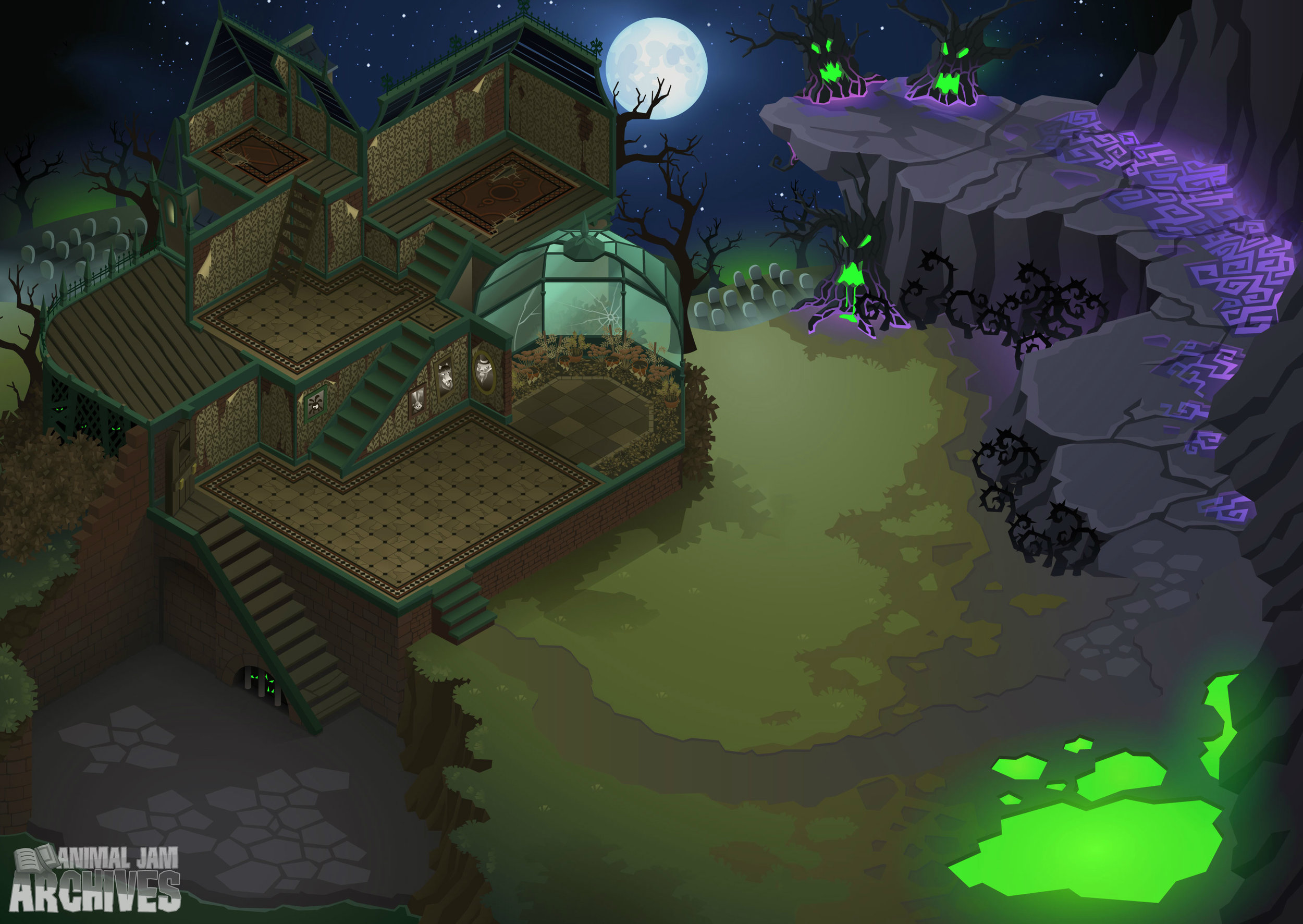 Epic Haunted Manor Map