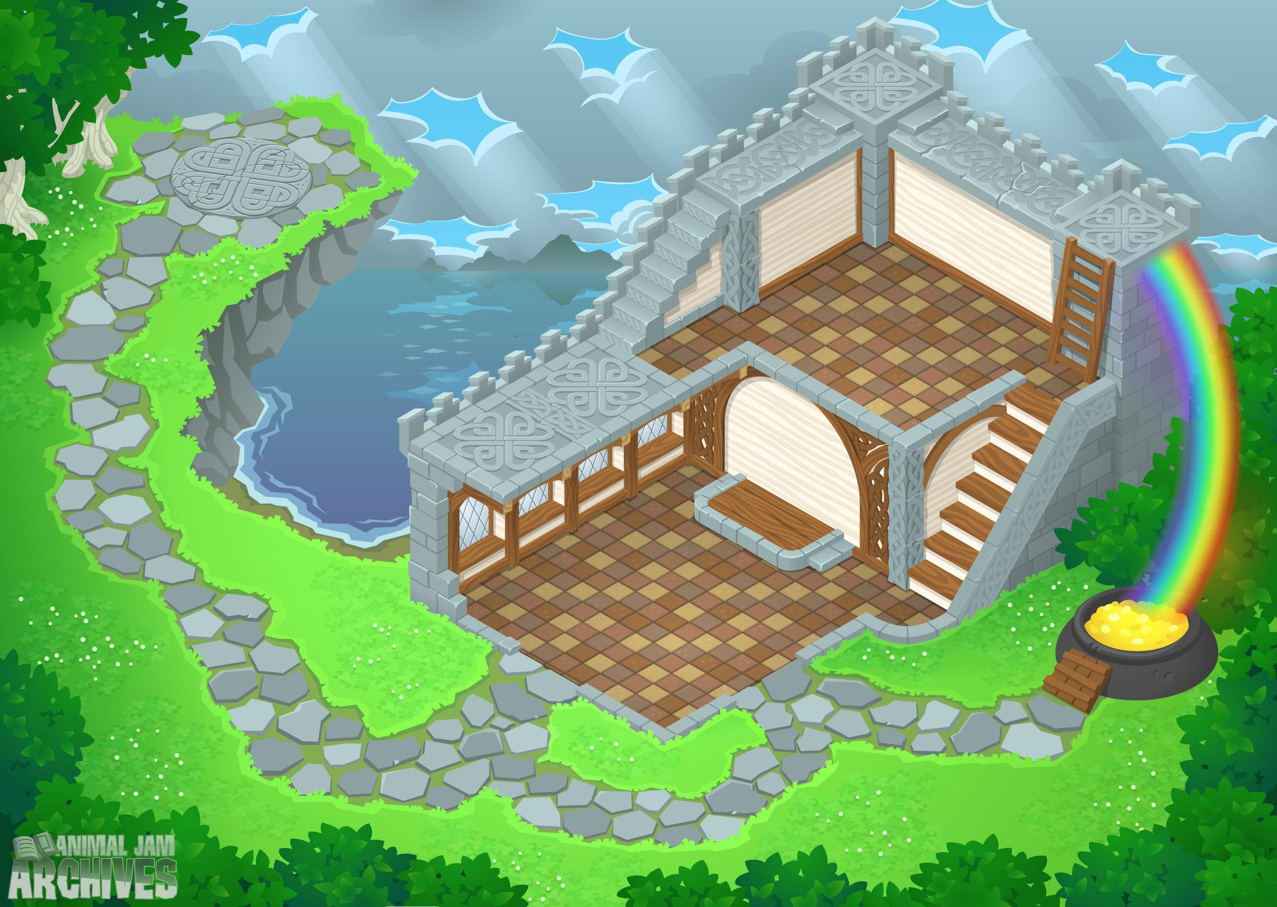 Lucky Castle Map