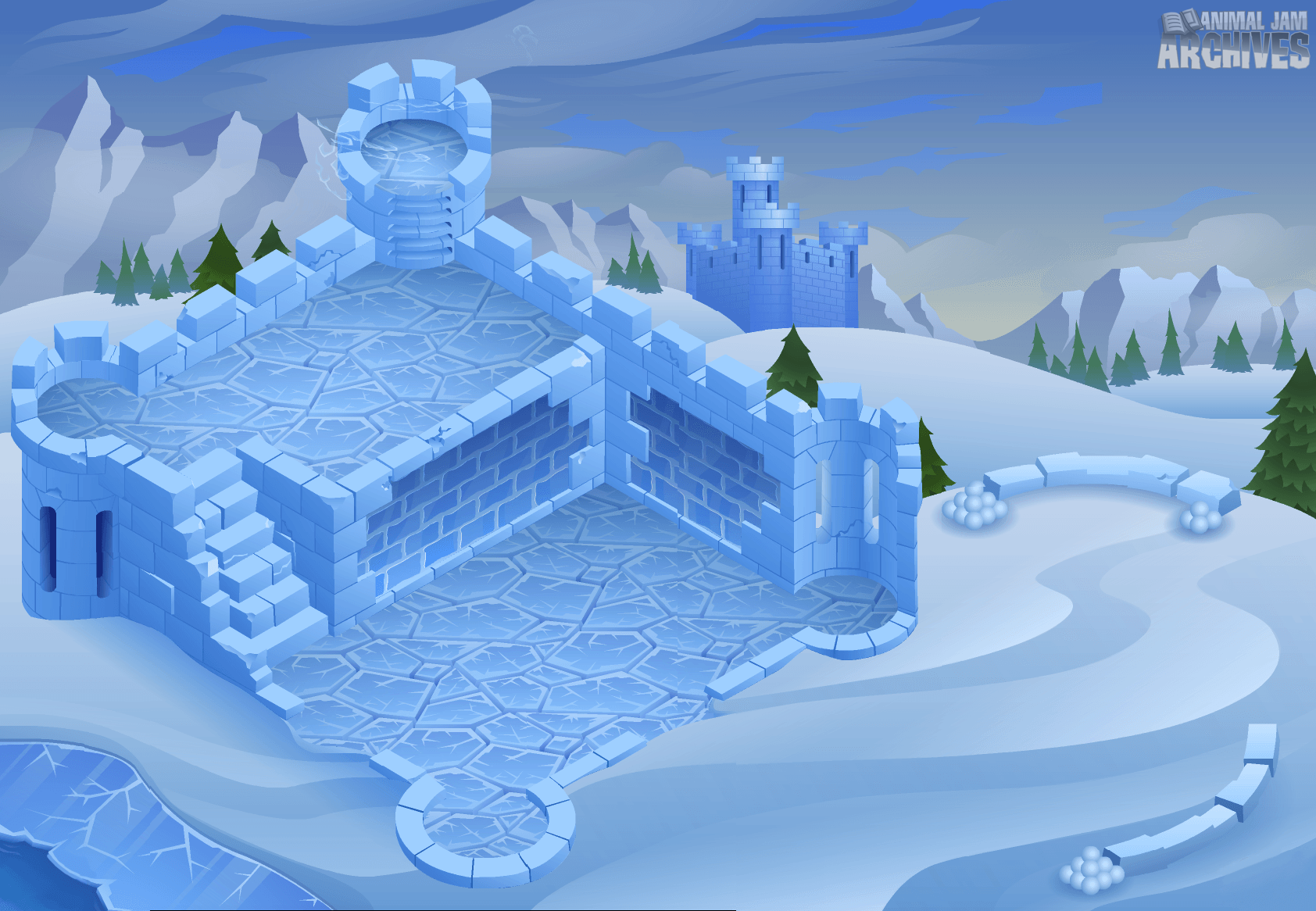 Snow Fort Map