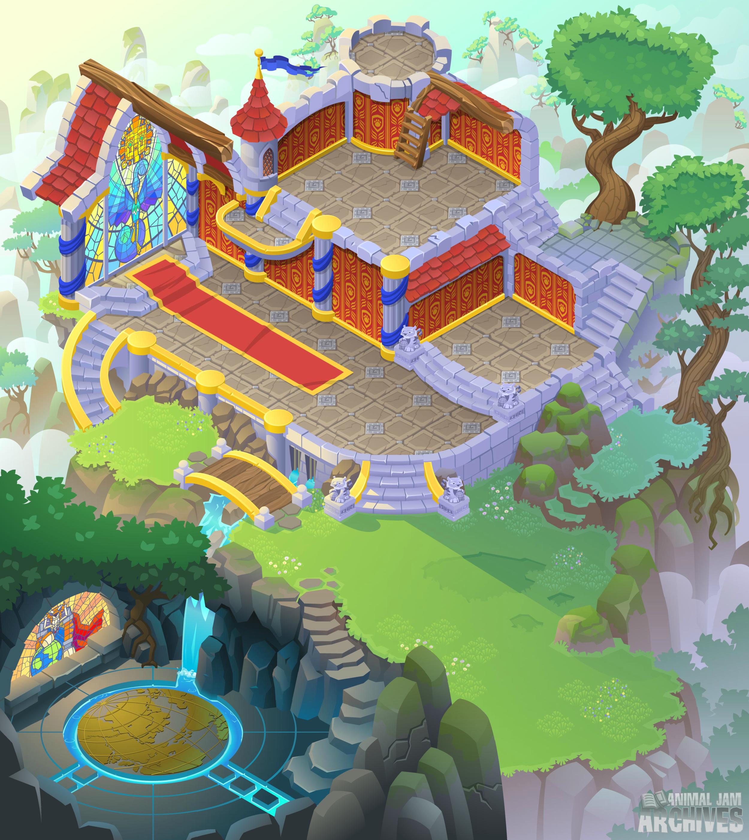 Sir Gilbert's Castle Map