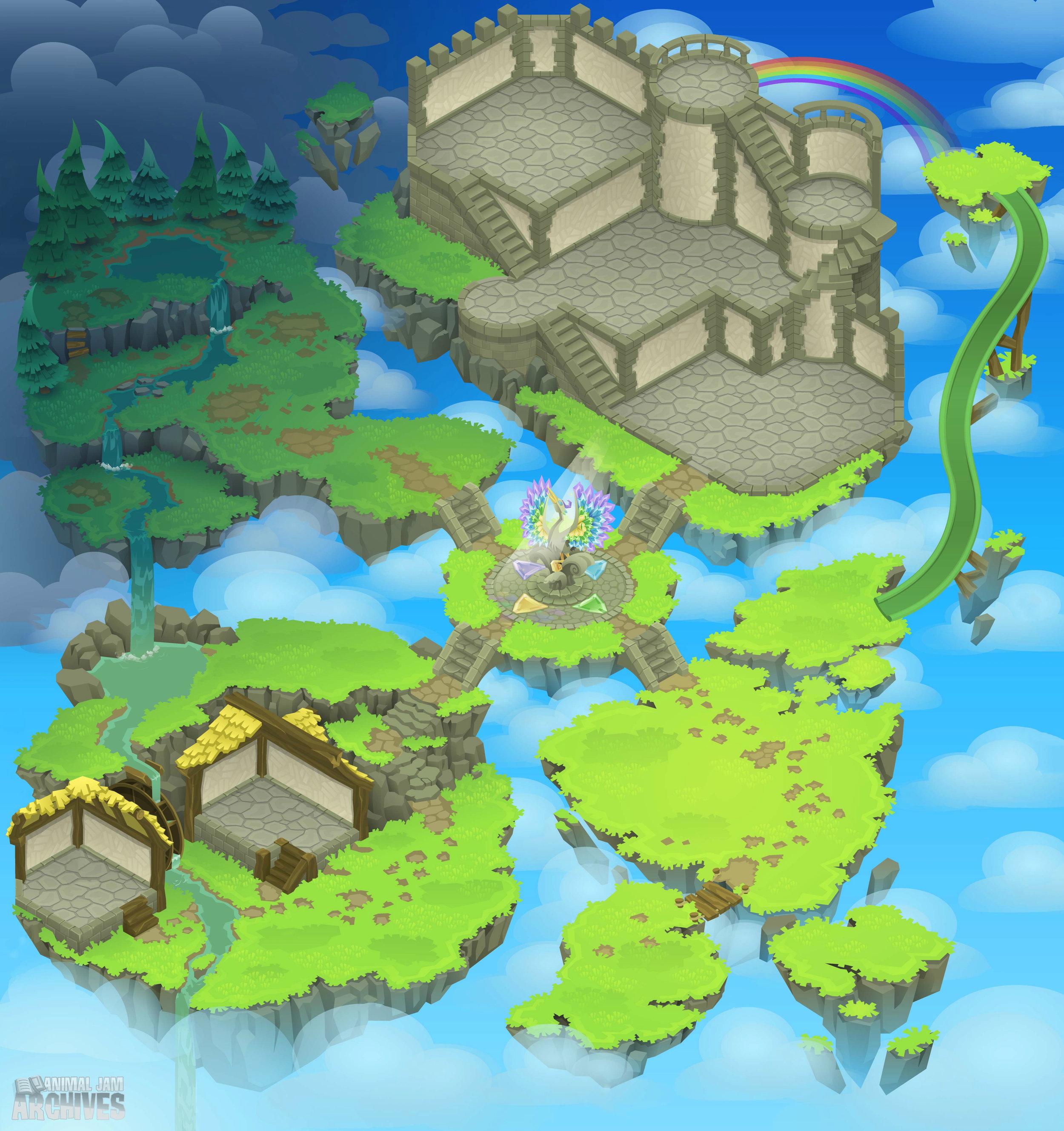 Sky Castle Map