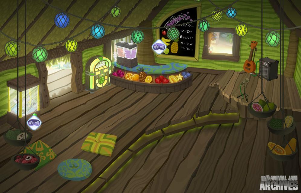 Captain Melville's Juice Hut Map