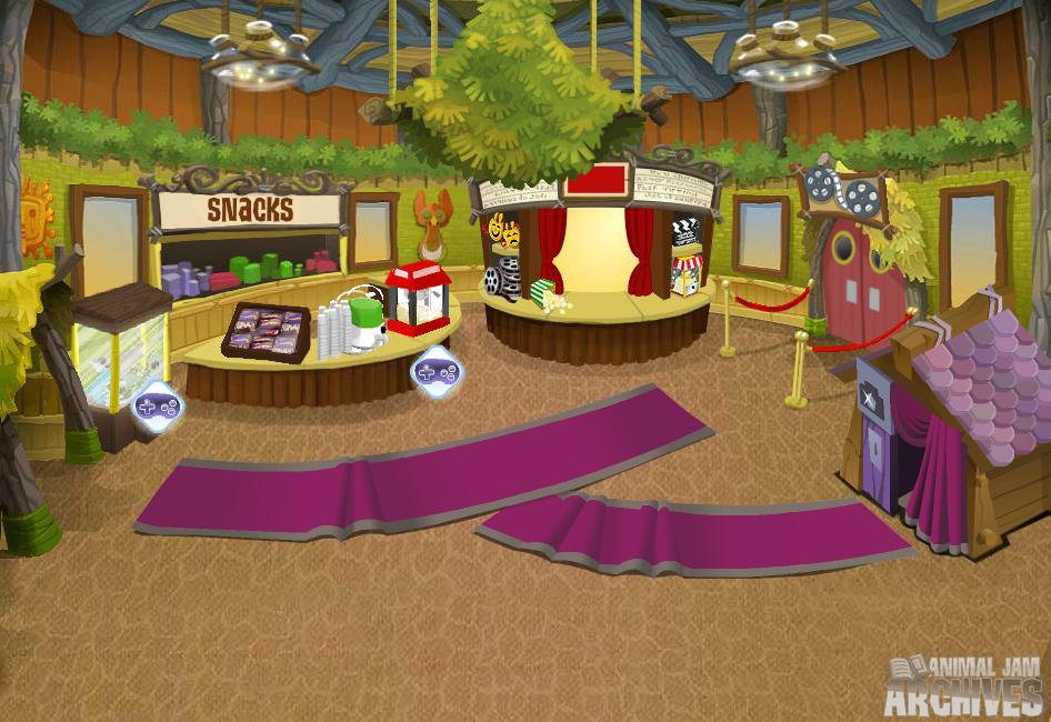 Theater Lobby Map