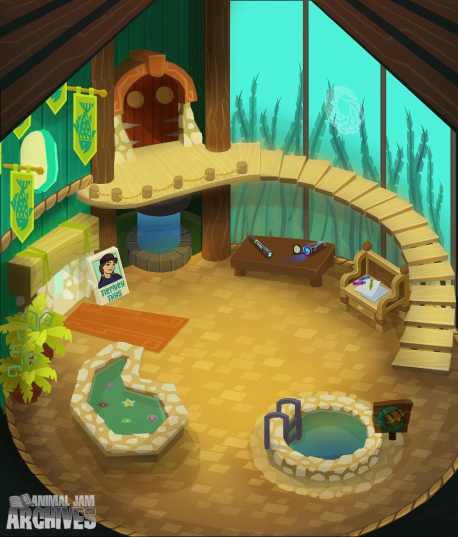Tierney's Aquarium Map