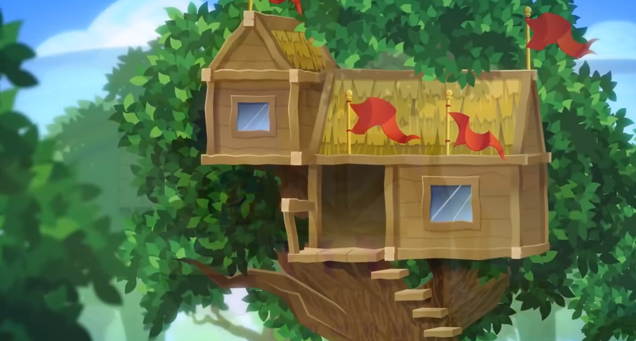 Tree House Wallpaper
