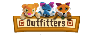 Outfitters Plush Logo