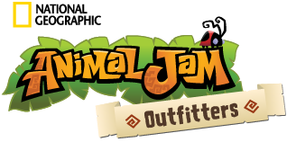 Animal Jam Outfitters Horizontal Logo