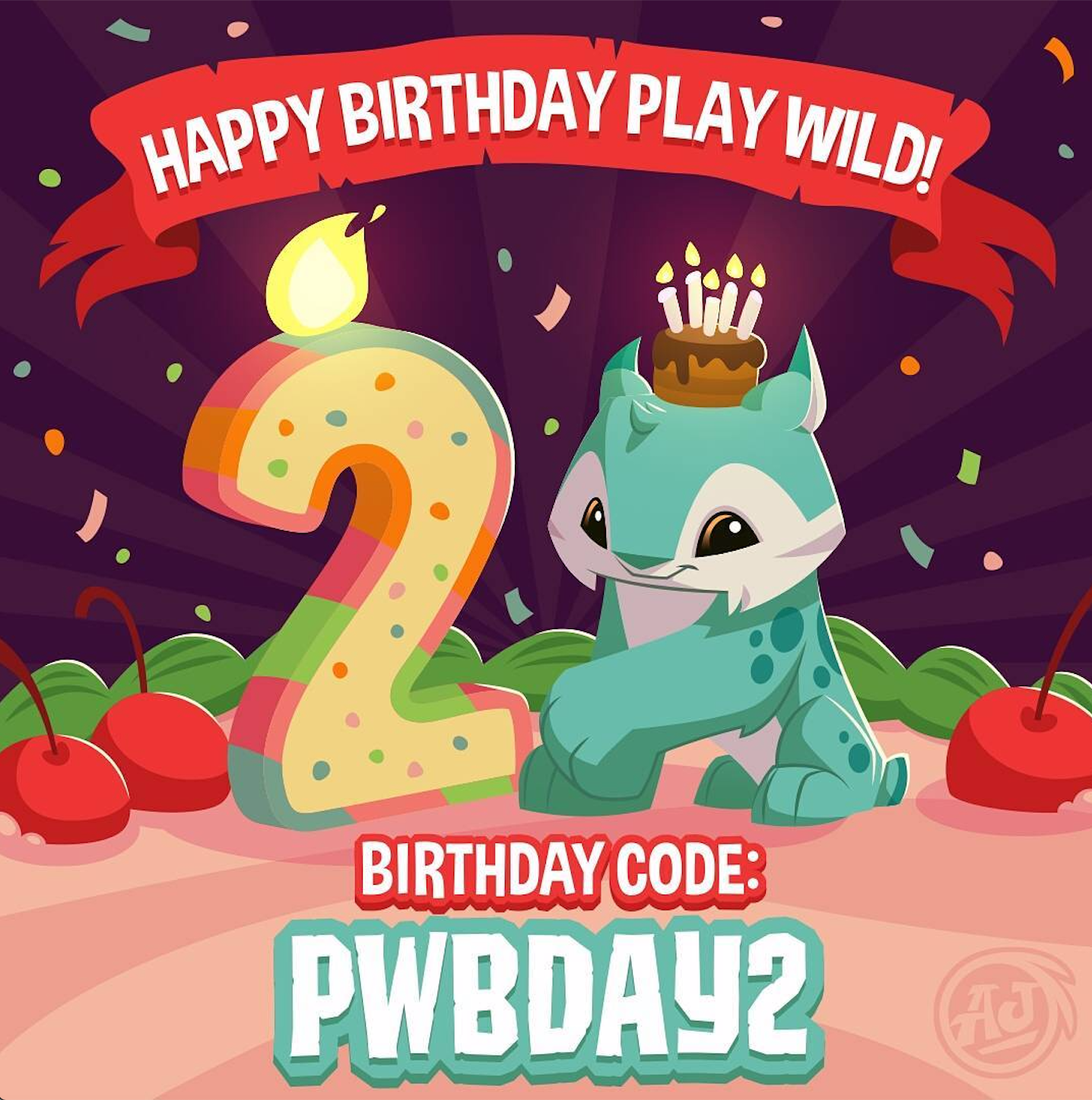 Happy 2nd Birthday, AJPW! — Animal Jam Archives