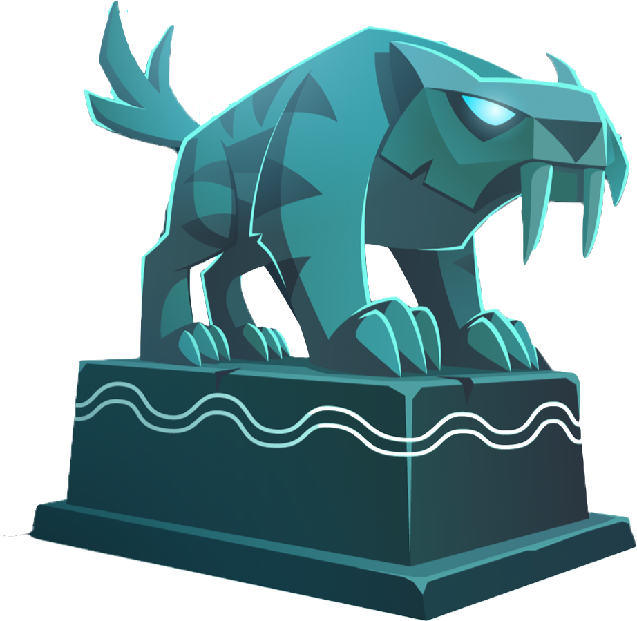 Sabertooth Statue