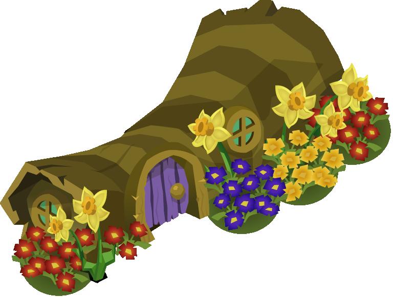 Spring Log Den