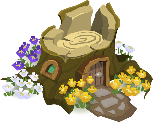 Spring Stump Den