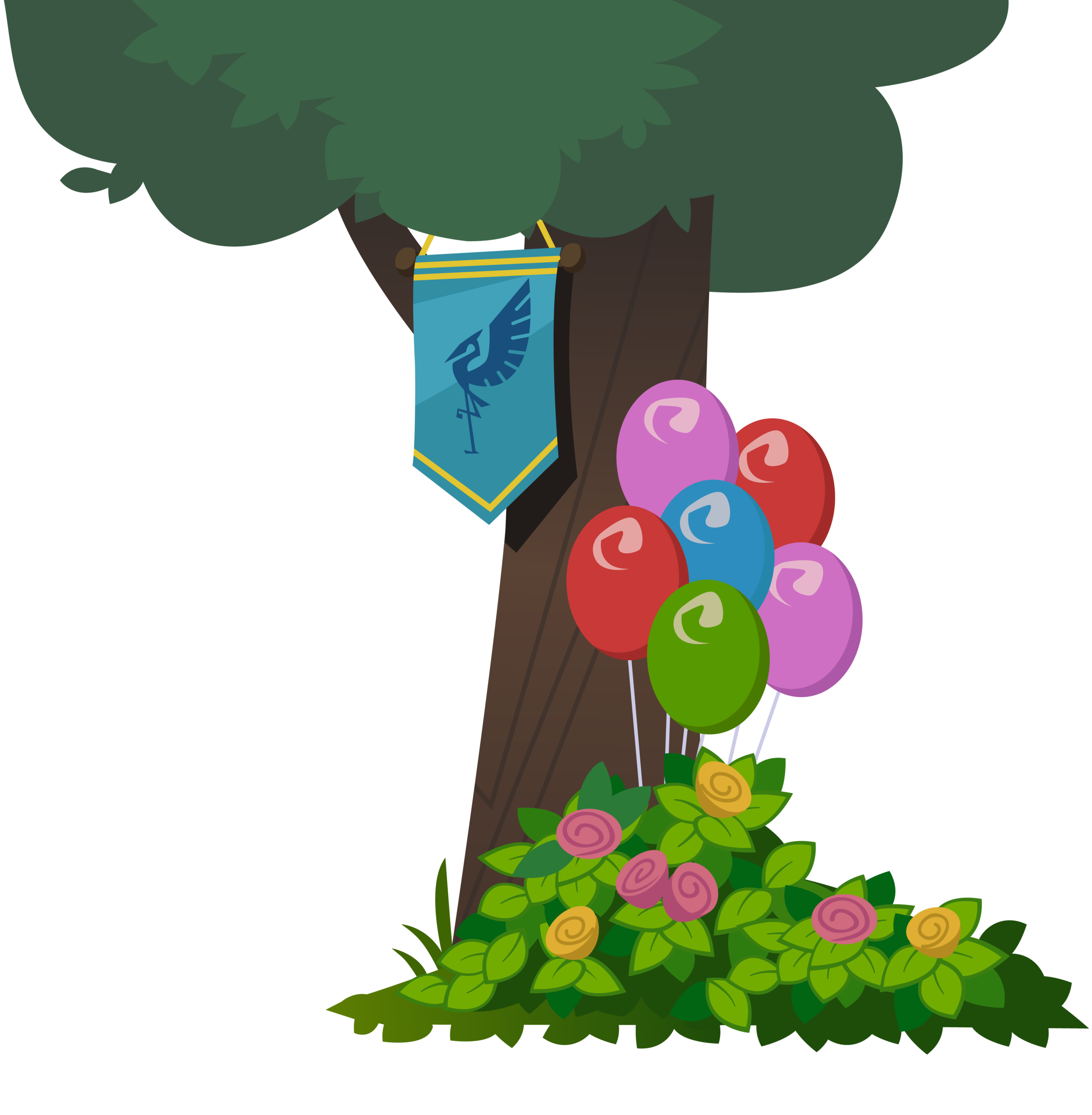 Right Zios Banner Tree