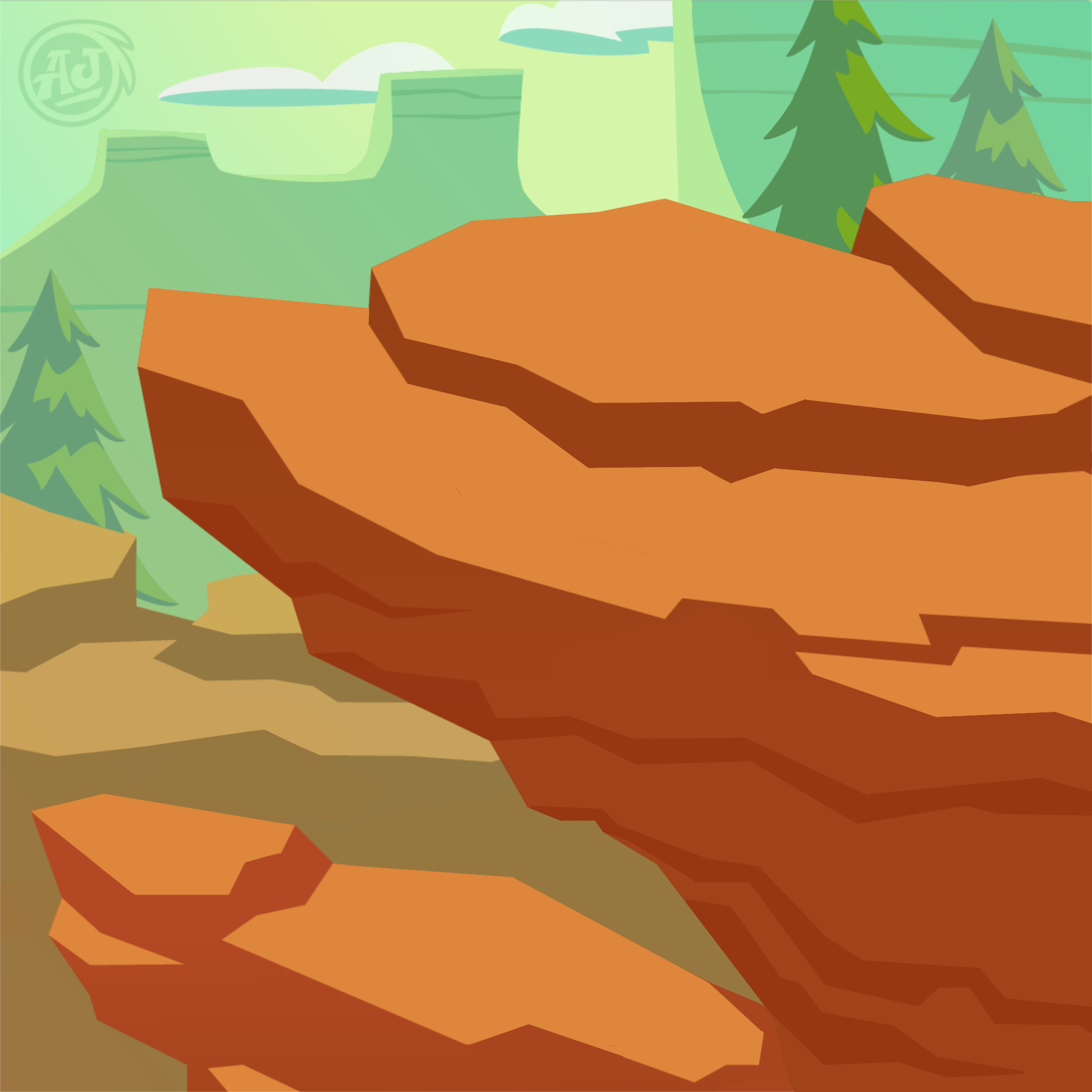 Canyon Cliffside