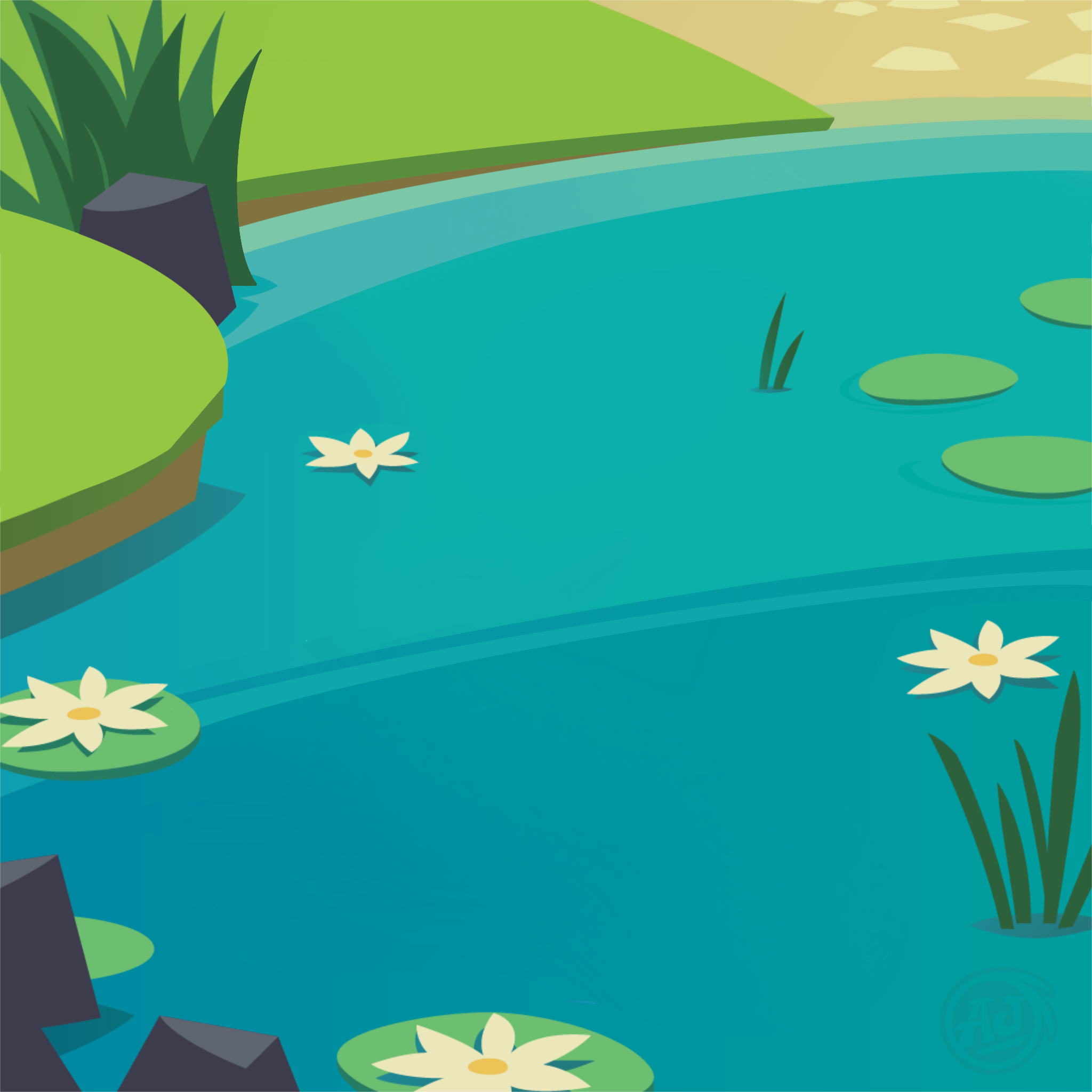 New! - Lilly Pond