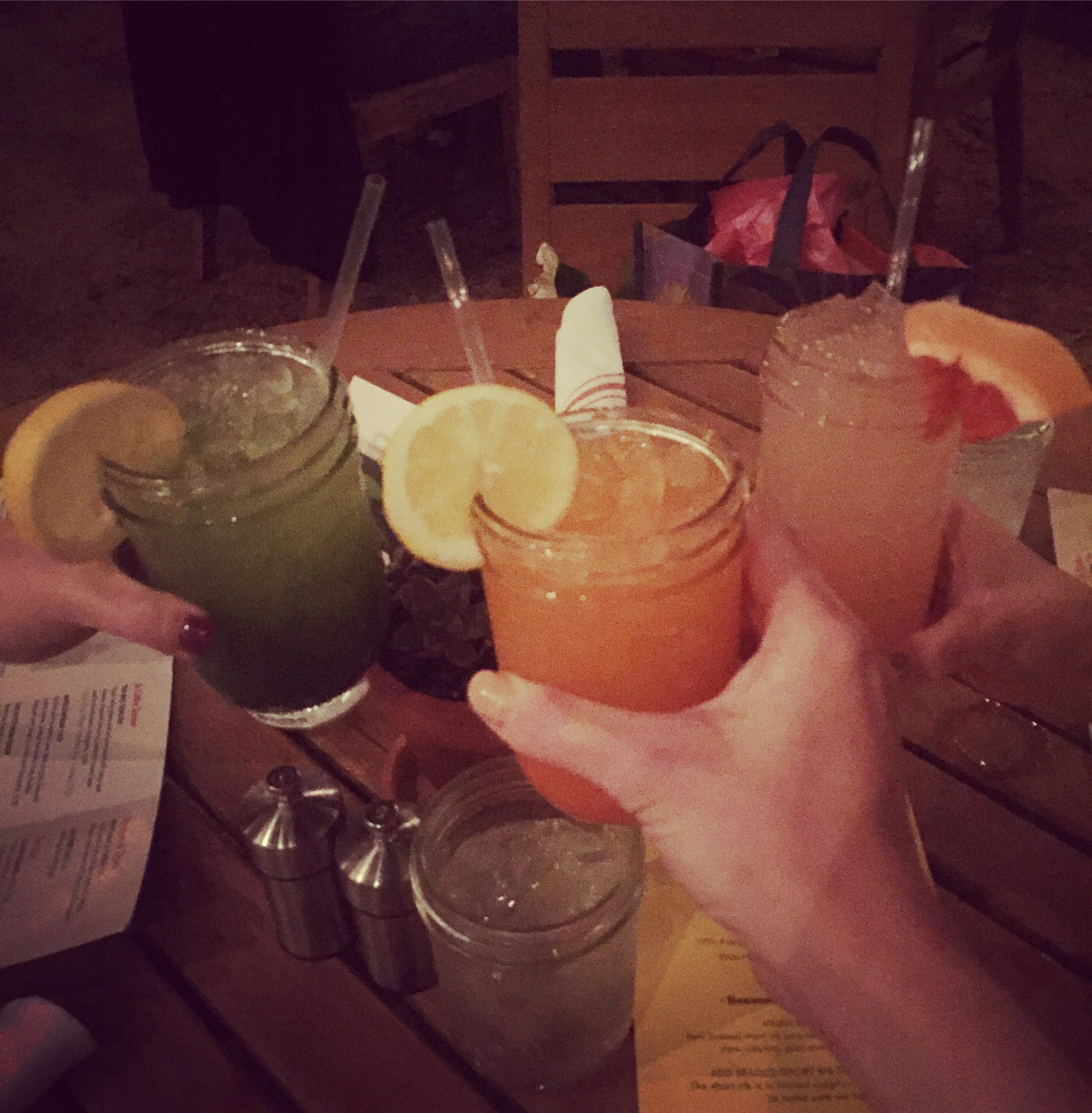 Cheers! I celebrated my 31st birthday with yummy drinks at Vinaigrette in 2017.