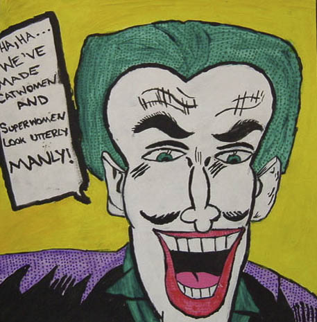 Pop art was one of the student's favorite are movements to study as brought humor and primary colors into their work.