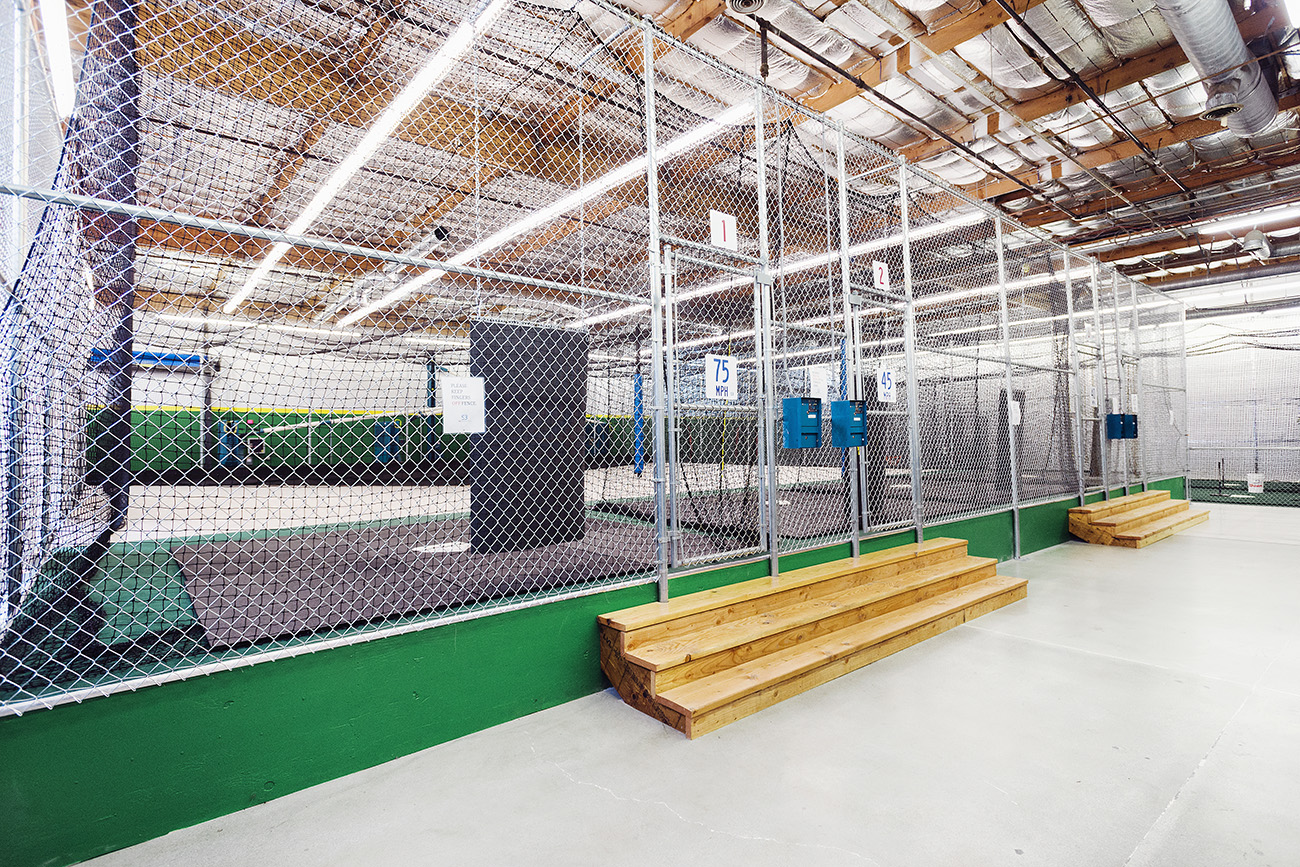 Sirious BASEBALL HAS MAJOR LEAGUE QUALITY MACHINE CAGES.