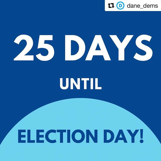 #Repost @dane_dems with @get_repost ・・・ It's getting to be crunch time! Check out the link in our bio to see how YOU can make a difference in this election by volunteering! . . . #danedems #wisdems #wearethebluewave #election2018 #bluewave2018 #goknockdoors