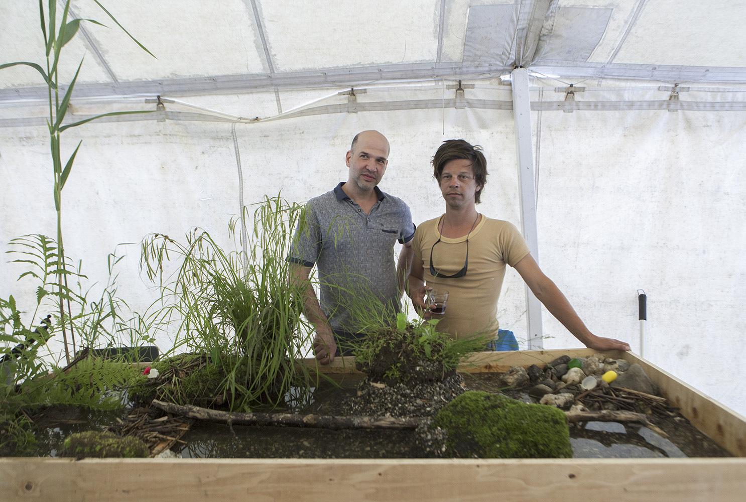 Guy Asselin et Frédéric Lavoie