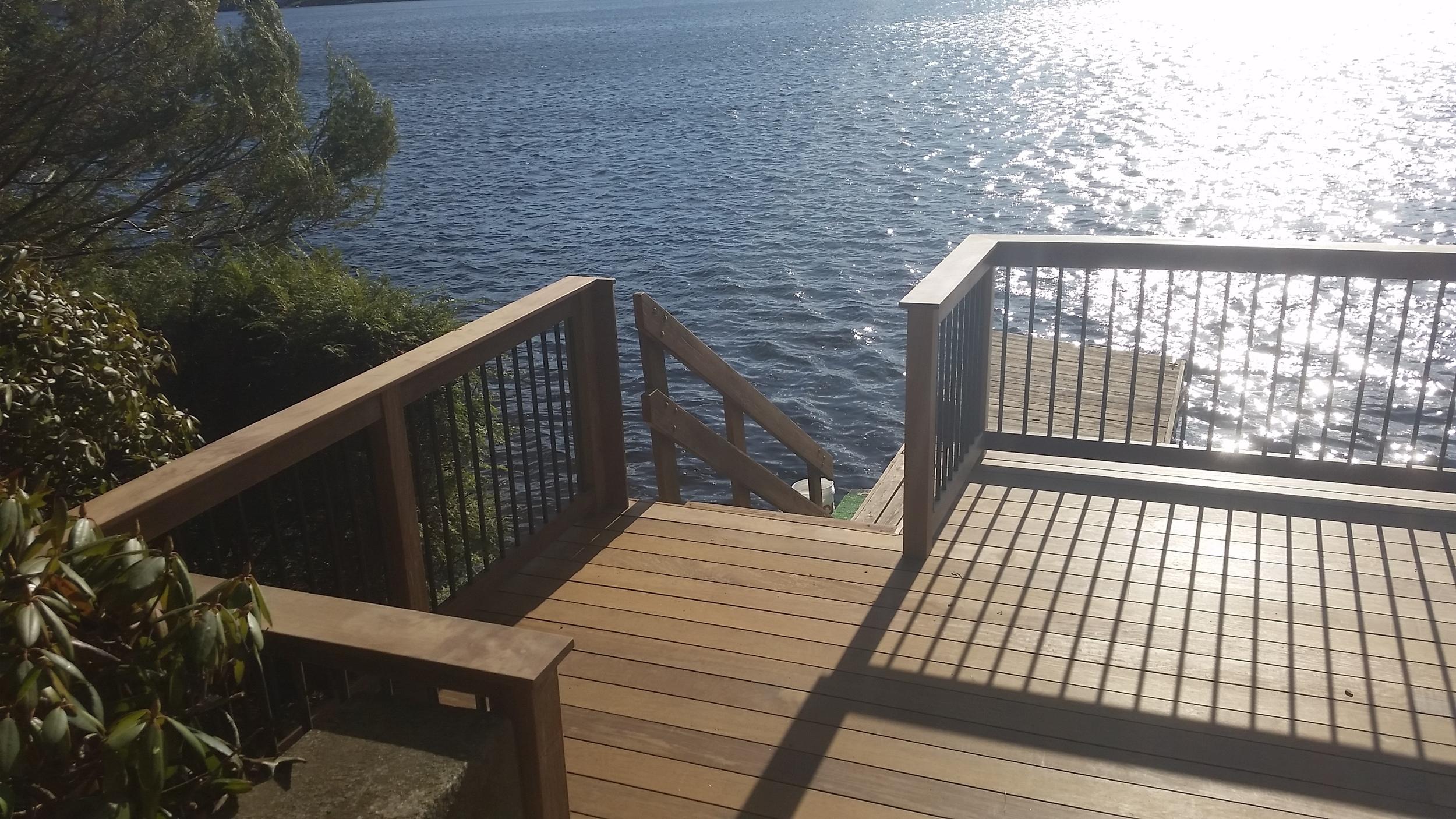 Lake Deck - East Brookfield MA