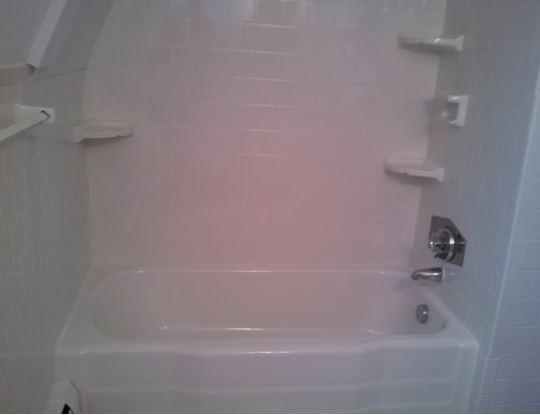 tub shower after