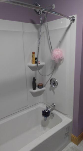 new shower in bathroom 3