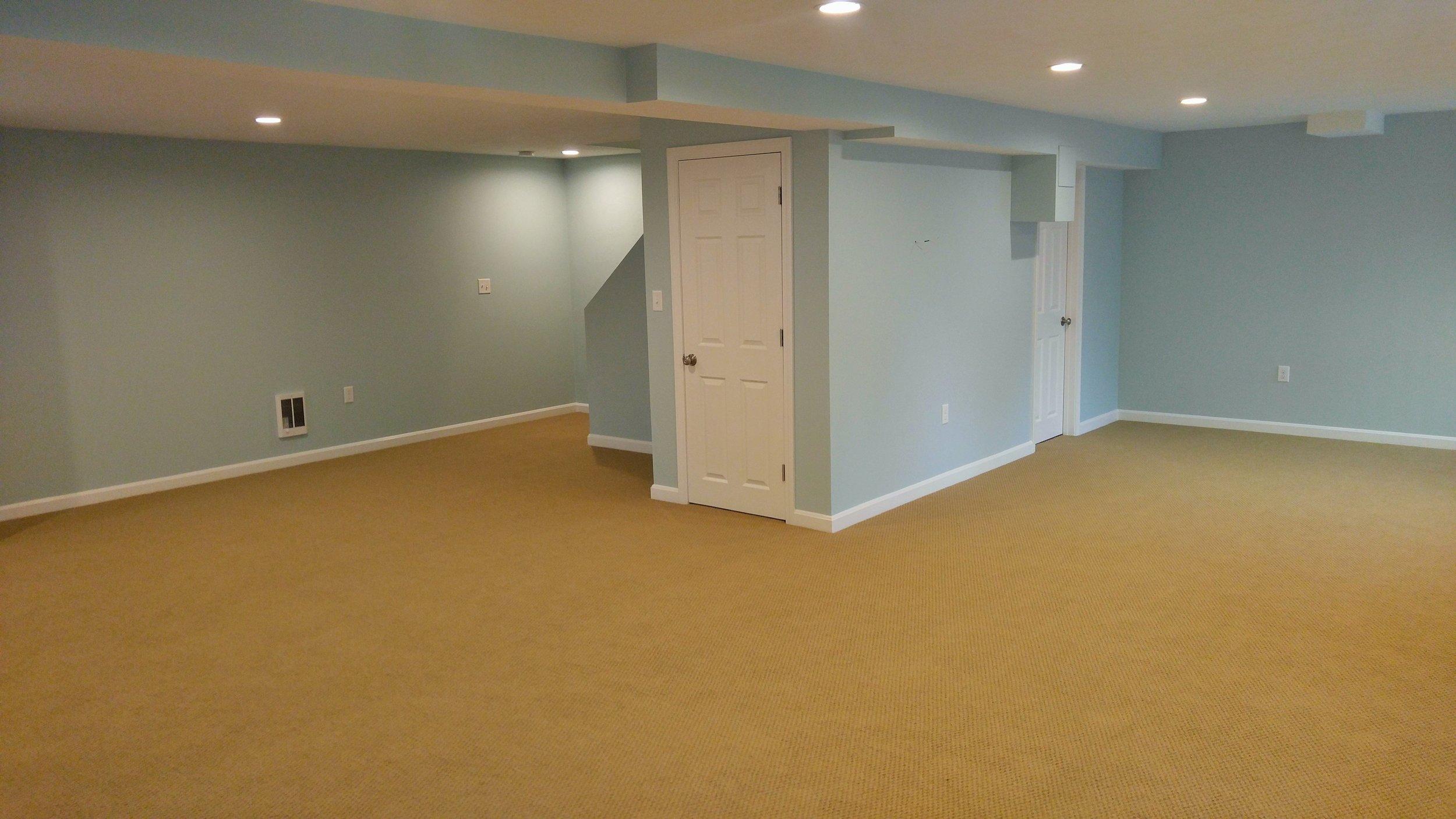Basement Renovation/Remodel - Oxford MA
