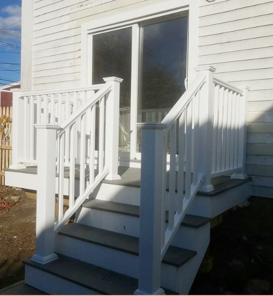 Window Conversion to Deck and Patio Door - Hopkinton MA