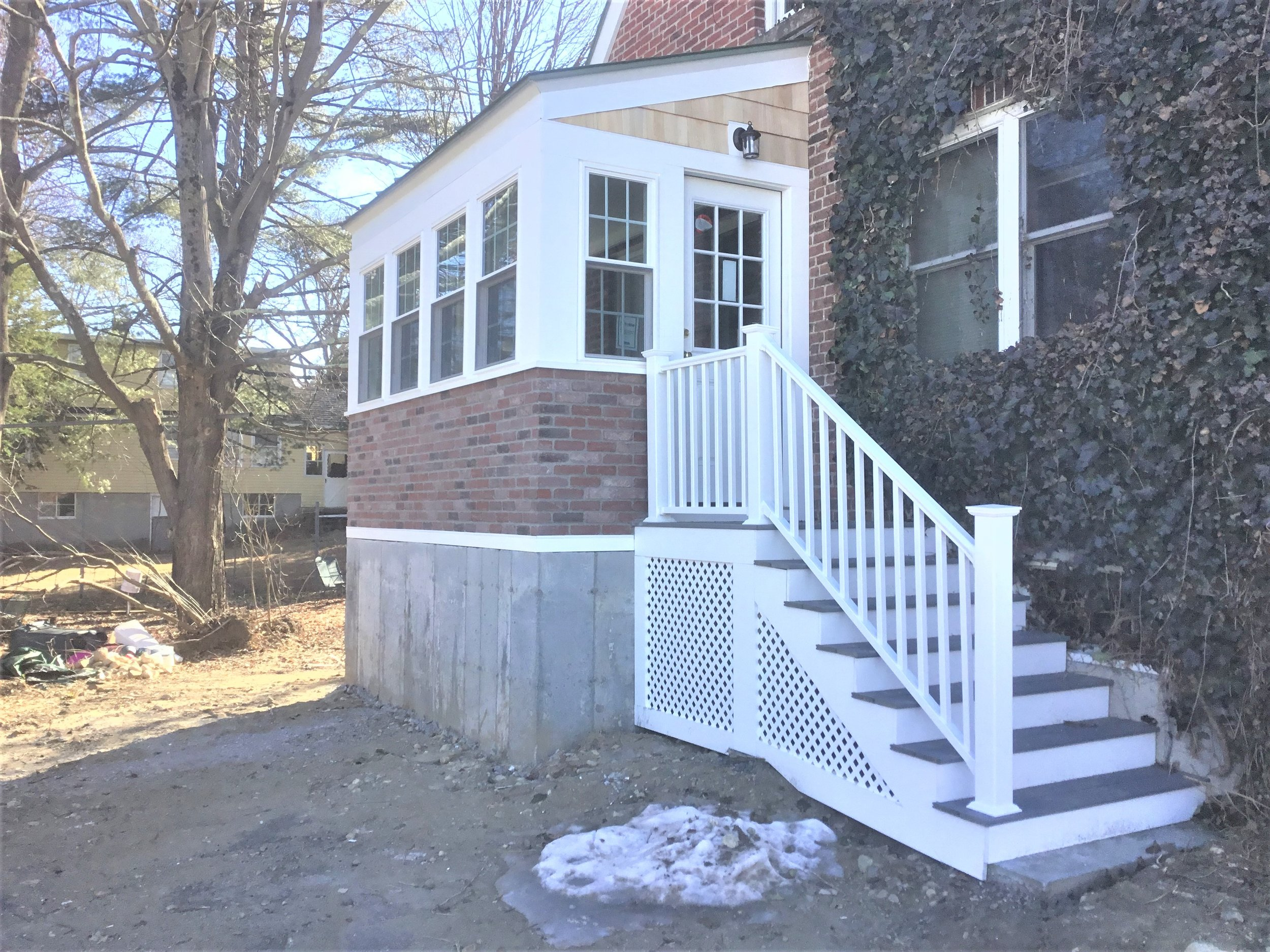 Four Season Porch Addition/Renovation - Worcester MA
