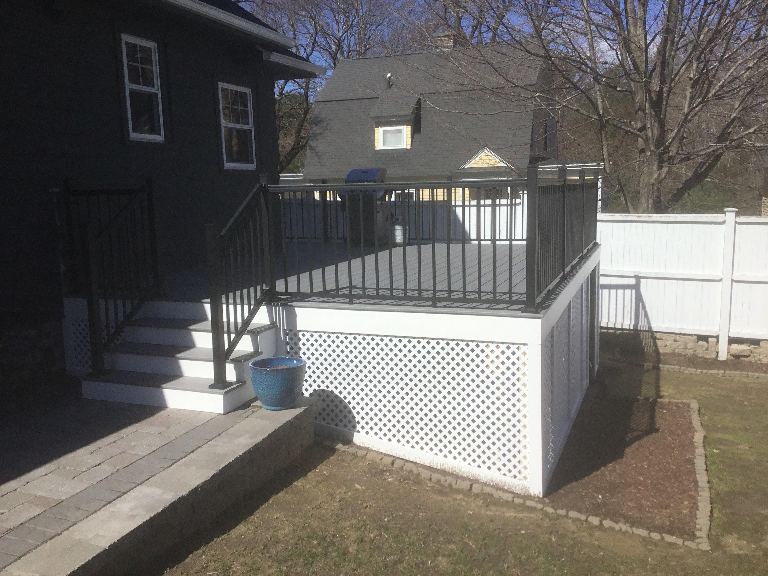 Deck Remodel/Renovation - Lancaster MA