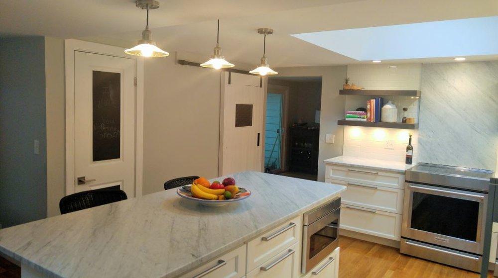 lake house kitchen remodeling - shrewsbury ma