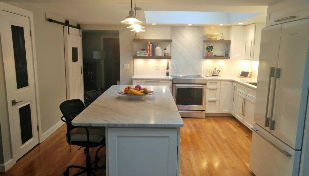LAKE Kitchen Renovation / remodeling - SHREWsBURY MA