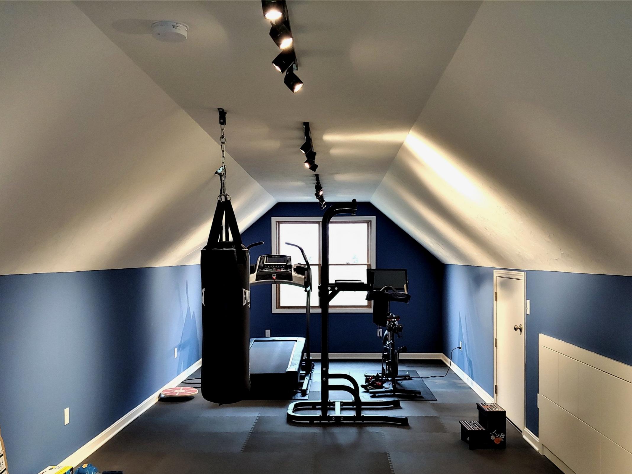 Attic Remodeling Project/Attic Renovation - Hudson MA