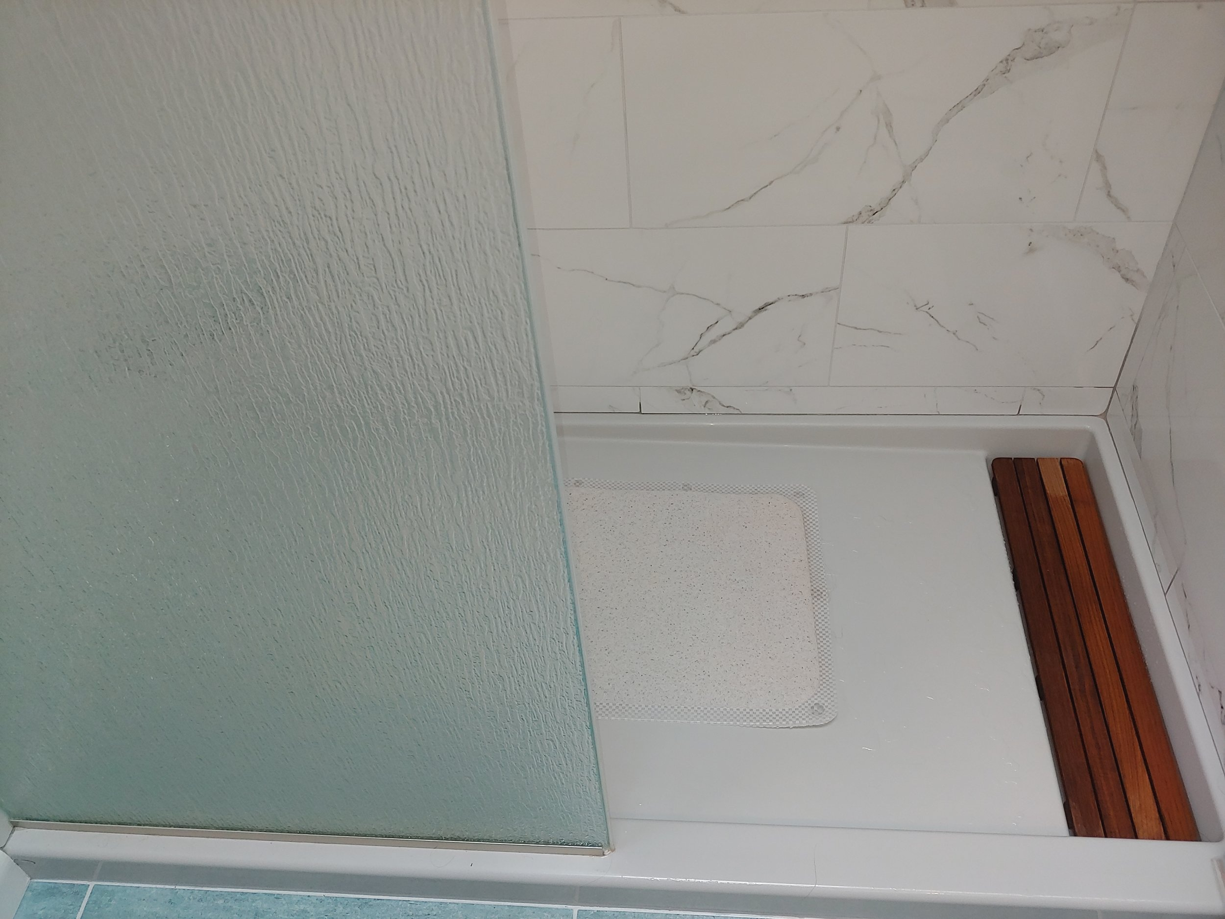 Shower flooring AFTER