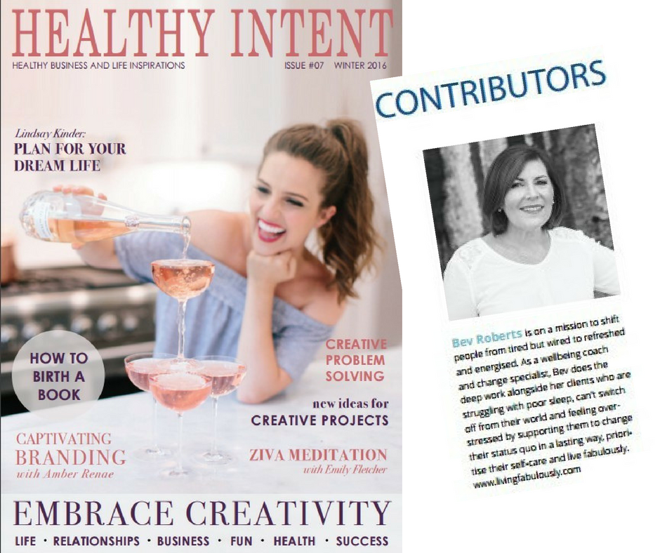Article published in Healthy Intent | Quality sleep to make you smarter & more creative
