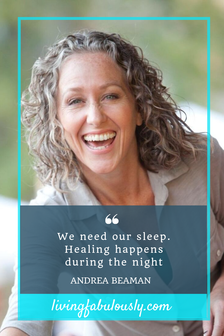 Andrea Beaman on your hormones and sleep on Living Fabulously with Bev Roberts P.png