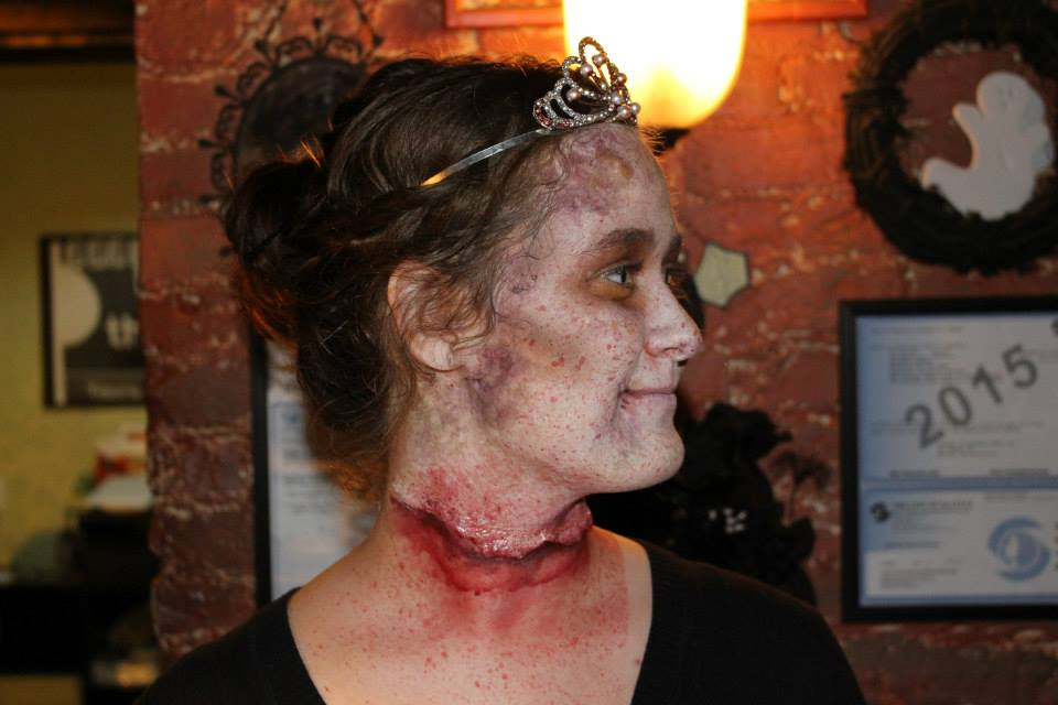 STAFF MEMBER AT ZOMBIE PROM 2015
