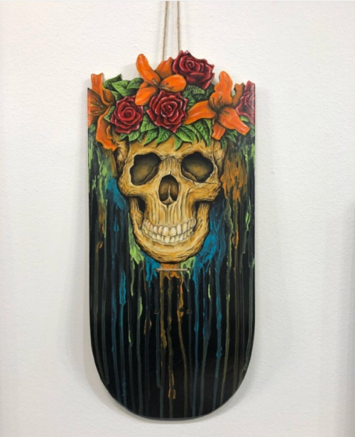 Original Piece by Chris Young AKA Skull Boy